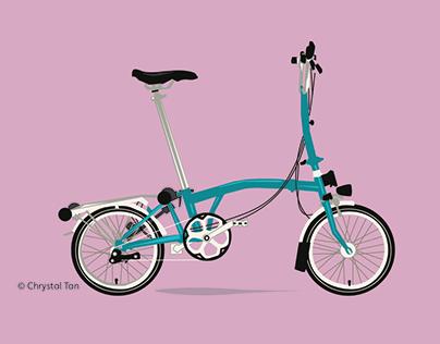Brompton Bike & Vespa GTR