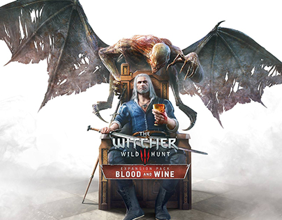Witcher 3:Wild Hunt - Blood & Wine Cover Art