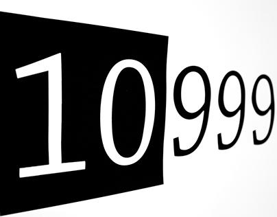 """Pop Up Ausstellung """"10999"""""""