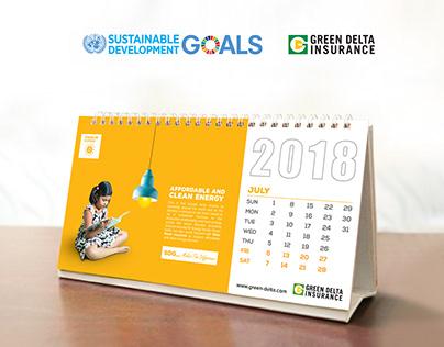 Green Delta Insurance Calendar 2018