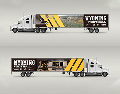 Football Equipment Semi-Truck Trailer Design