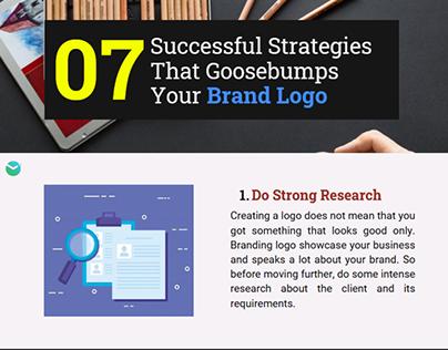7 Successful Strategies That Goosebumps Your Brand Logo