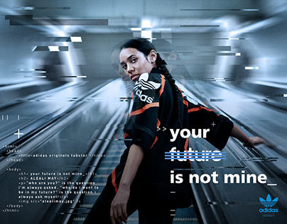 Your future is not mine \\ Adidas Originals SS16