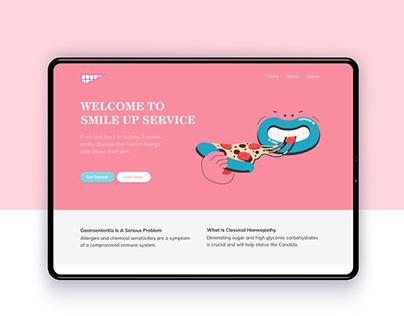 Smile UP - dental service design concept