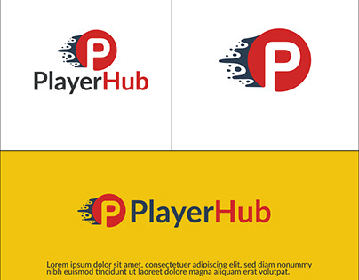 Player Hub Creative Logo Design