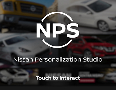 Nissan Touchscreen - Attract Loop