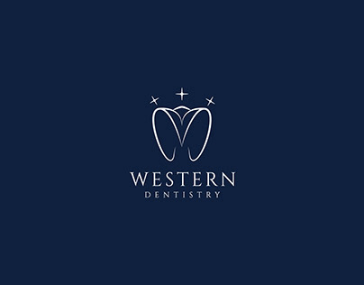 Dental, Dental clinic logo, minimalist logo