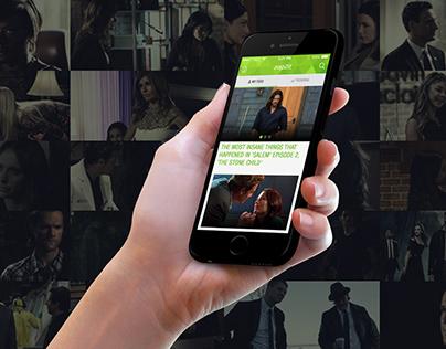 Zap2it Mobile App