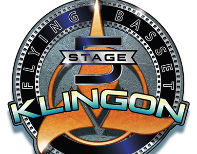 Klingon Beer logo design