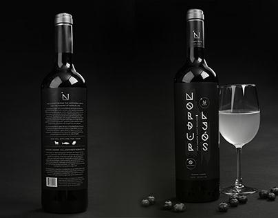 Norðurljós Wine, Graphic Design,Packaging