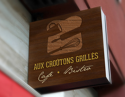 Logo - Aux Croûtons Grillés