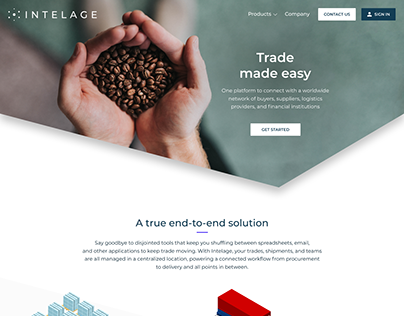 Intelage website