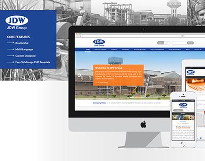 JDW Group - Website Design