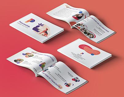 Company Profile Brochure : Pawzeeble