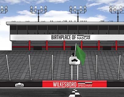 Wilkesboro Speedway Identity