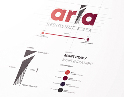 """Aria"" Visual Identity and Brand Development Project"