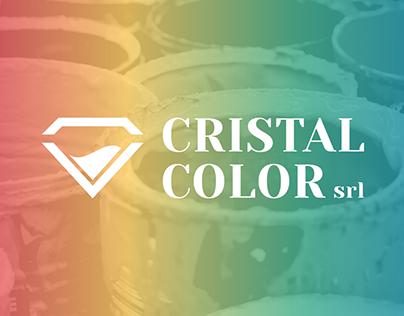 Cristal Color - Logo Design &Visual Identity