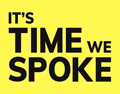 It's Time We Spoke - Lyric Video