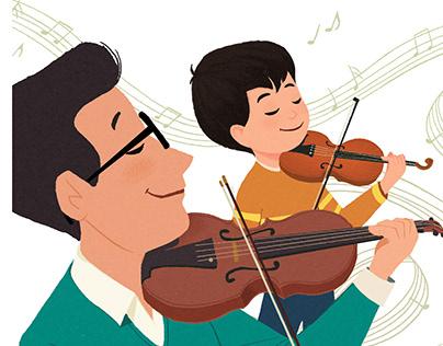Jack Plays the Violin