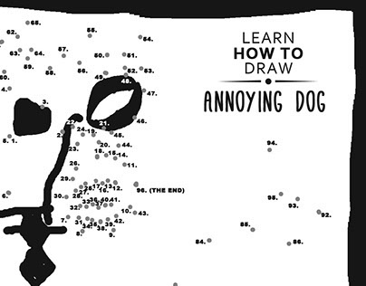 Learn how to draw - Annoying Dog