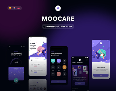 Moocare - Healthcare App UI Kit