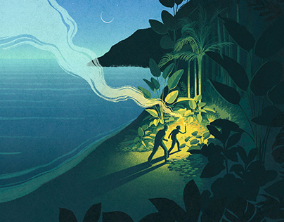 The Treasure Seeker - Book Cover Design