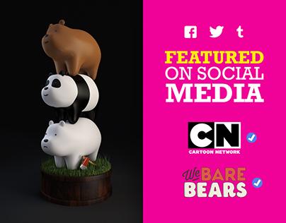 We Bare Bears (Fan Art)