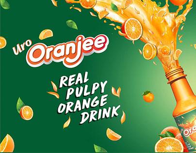 ORANJEE Campaign & Outlet Branding Desing