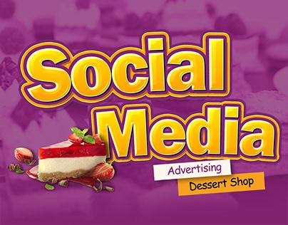 Social Media - Dessert Shop