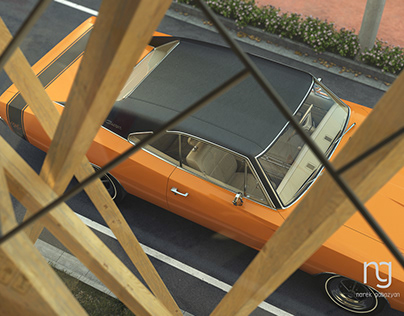 Dodge Charger 1969 RT in Tokyo (part 1)