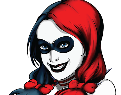 Harley Quinn Projects Photos Videos Logos Illustrations And Branding On Behance