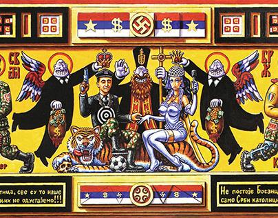 Iconostasis of Serbisms- Serbonazism