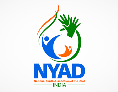 National Youth Association Of The Deaf, INDIA - Logo