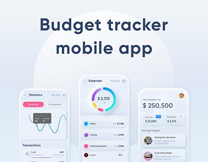 Budget tracker mobile app
