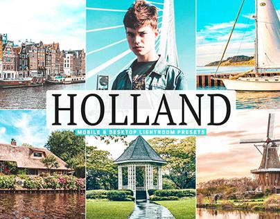Free Holland Mobile & Desktop Lightroom Presets