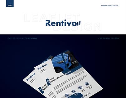 Leaflet Design for RENTIVO.PL