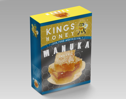 Kings Honey/ VI & Packaging design