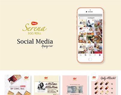 Social Media: Serena Monde Eggroll