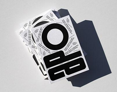 Apocope - Brand identity