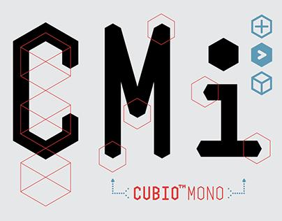 Cubio™ Mono Typeface Design