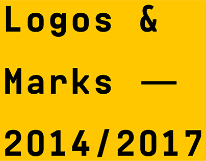 Logos & Marks — 2014⁄2017