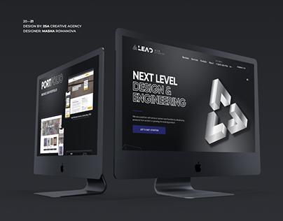 LEAD Web Design and Development Studio | Landing Page