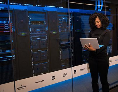 Photo of Data Center