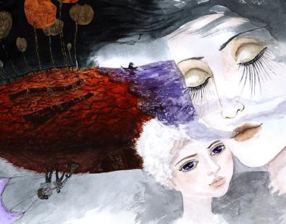 Дом над морем. Андрей Зимний. Иллюстрация.