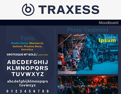Traxess, Logo Design & Moodboard