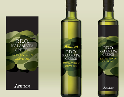 AENAON Olive Oil Packaging Presentation