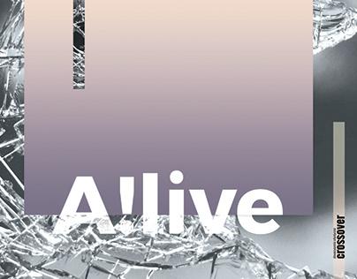 A!live ▫ graphic design