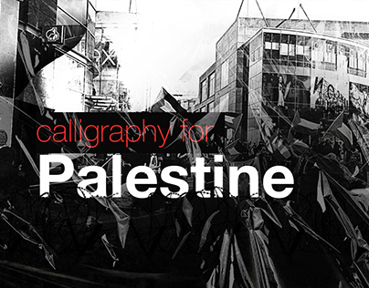 Calligraphy For Palestine