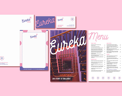 Hotel Branding : Eureka Lodge (Boutique Hotel)
