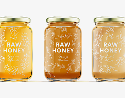Raw Tropical Honey